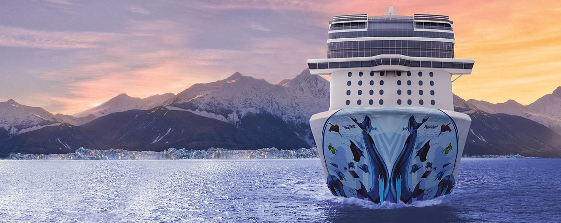 Cruceros exclusivos en Alaska con Norwegian Bliss