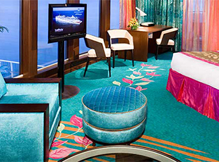 The Haven Deluxe Owner's suite con Balcón Grande